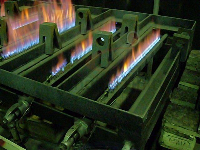 环保型火焰加热平台