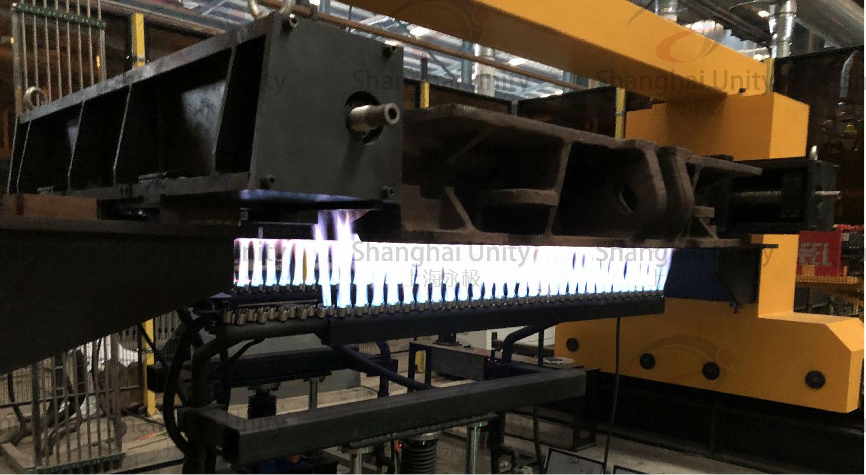 刮板机中部槽焊接预热设备