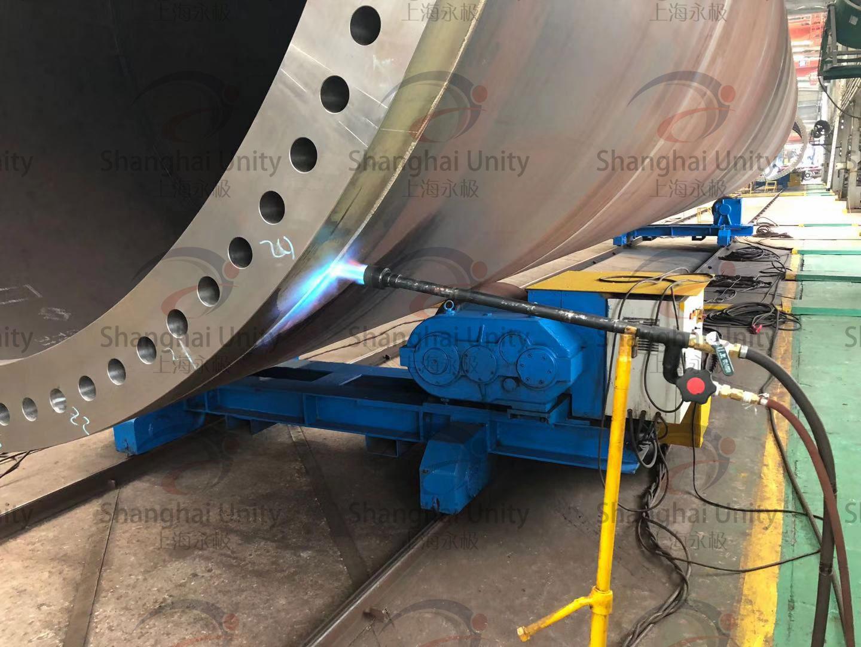 环缝焊接火焰预热应用介绍