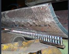 厚板折弯直排预热