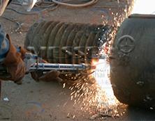 铸铁、不锈钢粉末切割